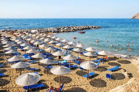 retimno Krit leto 2021 avionom - hoteli i aprtmani - Panormos plaža - direktan čarter let Fibula Air Travel - fibula.rs