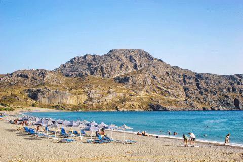 Retimno Krit leto 2021 avionom - hoteli i aprtmani - Plakias plaža - direktan čarter let Fibula Air Travel - fibula.rs