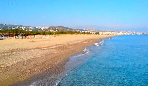 retimno Krit leto 2021 avionom - hoteli i aprtmani - Platanias plaža - direktan čarter let Fibula Air Travel - fibula.rs