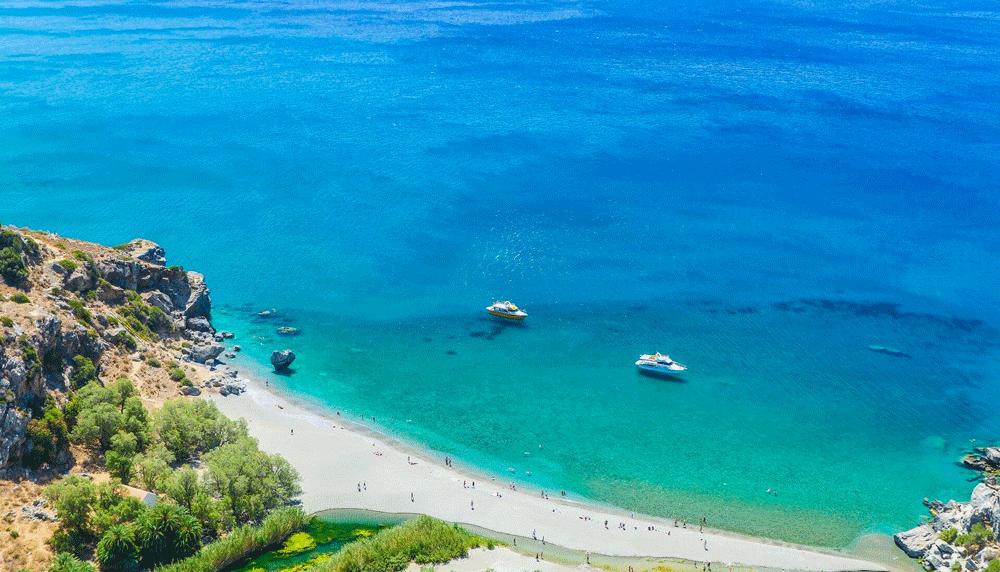 retimno Krit leto 2021 avionom - hoteli i aprtmani - Preveli plaža - direktan čarter let Fibula Air Travel - fibula.rs