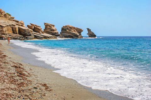 retimno Krit leto 2021 avionom - hoteli i aprtmani - Triopetra  plaža - direktan čarter let Fibula Air Travel - fibula.rs